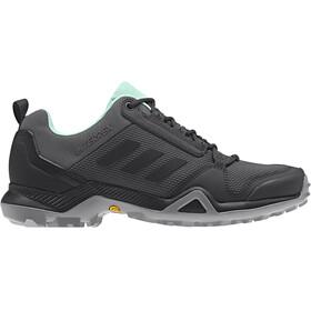 adidas TERREX AX3 Shoes Women grey five/core black/clemin